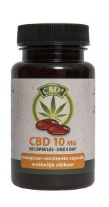 Jacob Hooy CBD Capsules 10mg SL